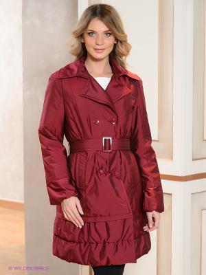 Пальто Coccapani. Цвет: бордовый