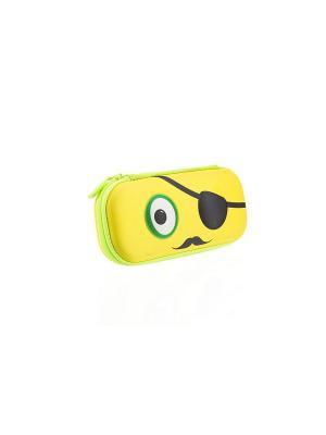Пенал BEAST BOX, цвет желтый ZIPIT. Цвет: желтый
