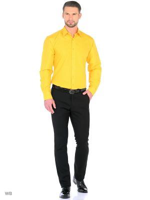 Рубашка CARAT.. Цвет: желтый