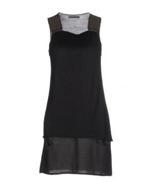 Короткое платье REBEL QUEEN. Цвет: стальной серый
