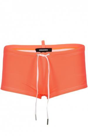 Плавки-шорты Dsquared2. Цвет: оранжевый