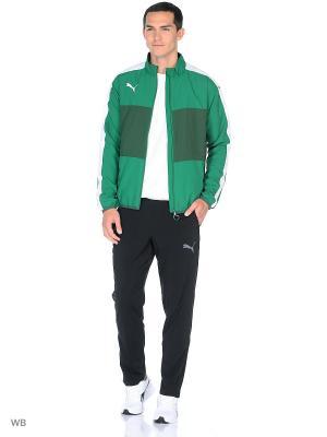 Куртка Veloce Woven Jacket Puma. Цвет: зеленый