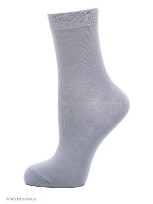 Носки, 3 пары БРЕСТСКИЕ. Цвет: светло-серый