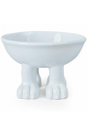 Миска Cat большая Efeet Collection. Цвет: белый