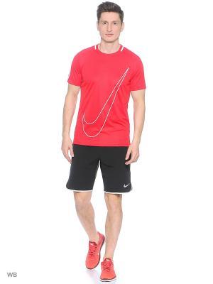 Футболка M NK DRY ACDMY TOP SS GX Nike. Цвет: красный