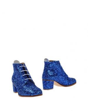 Полусапоги и высокие ботинки L'F SHOES. Цвет: ярко-синий
