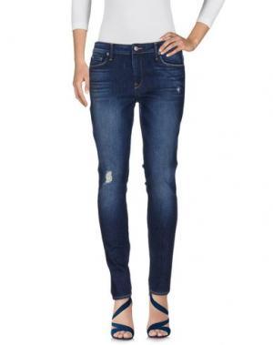 Джинсовые брюки GENETIC DENIM. Цвет: синий