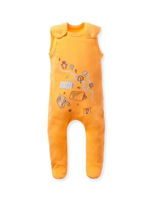 Ползунки FLOBABY. Цвет: оранжевый