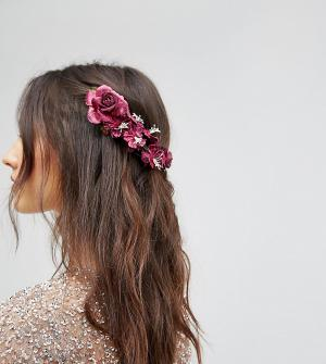 Her Curious Nature Заколка для волос. Цвет: красный