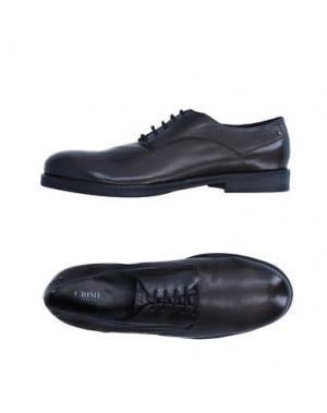 Обувь на шнурках D'ACQUASPARTA. Цвет: черный