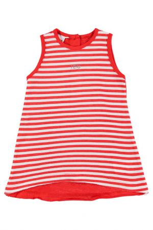 Платье IDO. Цвет: оранжевый