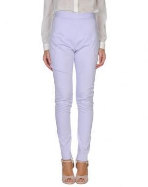 Повседневные брюки ALEX VIDAL. Цвет: сиреневый