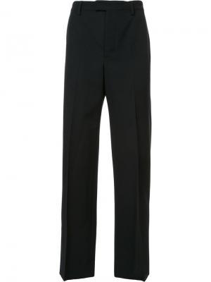Костюмные брюки Lemaire. Цвет: чёрный