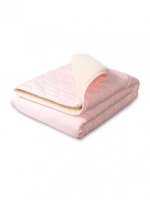 Плед-одеяло Барашек Сонный гномик. Цвет: розовый