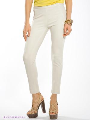 Брюки Anna Rachele Jeans. Цвет: белый