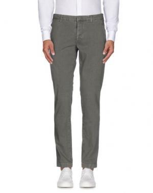 Повседневные брюки MANUEL RITZ. Цвет: зеленый