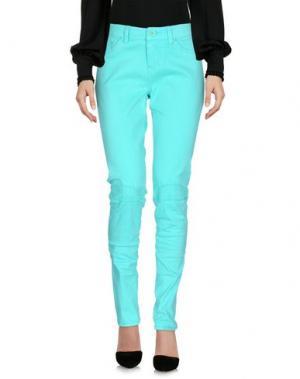 Повседневные брюки RIPCURL. Цвет: светло-зеленый