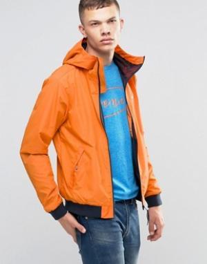 Bench Оранжевая ветровка на молнии. Цвет: оранжевый