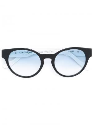 Солнцезащитные очки  x Alain Mikli Courrèges. Цвет: чёрный