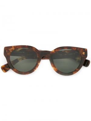 Cat eye sunglasses Eyevan7285. Цвет: коричневый