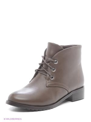 Ботинки ELCHE. Цвет: темно-бежевый