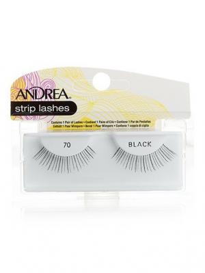 Andrea 21310 Mod Strip Lashes 70 Накладные ресницы Andrea.. Цвет: черный