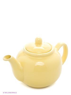Заварочный чайник, 940 мл LORAINE. Цвет: желтый