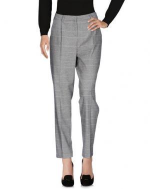 Повседневные брюки ZHELDA. Цвет: серый