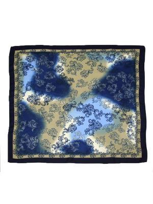 Платок Magrom. Цвет: синий, бежевый