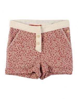 Повседневные шорты SCOTCH R'BELLE. Цвет: красно-коричневый
