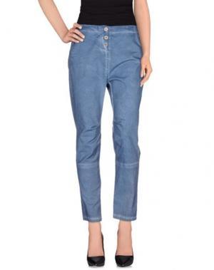 Повседневные брюки RISSKIO. Цвет: грифельно-синий