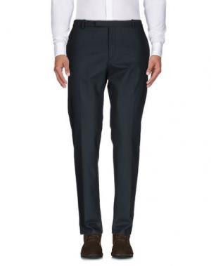 Повседневные брюки HŌSIO. Цвет: темно-зеленый