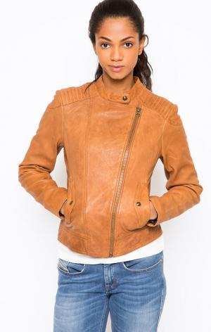 Куртка Campus. Цвет: коричневый