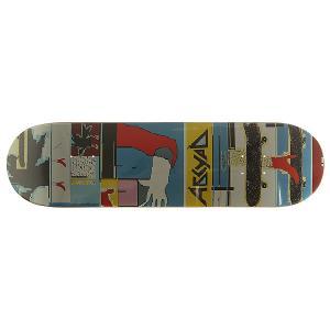 Дека для скейтборда  Paint 2 multi 32 x 8.25 (21 см) Absurd. Цвет: мультиколор