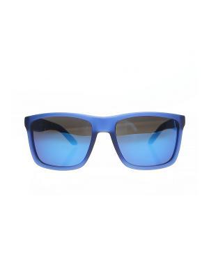 Солнцезащитные очки Happy Charms Family. Цвет: черный, синий