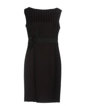 Короткое платье SALLY NEW YORK. Цвет: баклажанный