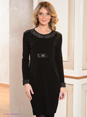 Платье Coccapani. Цвет: черный