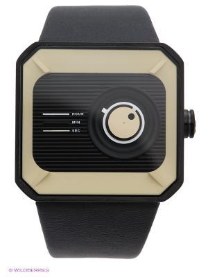 Часы TACS. Цвет: черный, бежевый