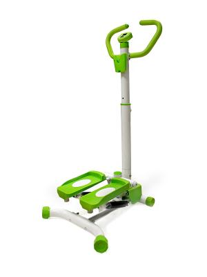 Тренажер для бедер и ягодиц STAR FIT HT-201 Stepper с ручкой starfit. Цвет: зеленый, белый