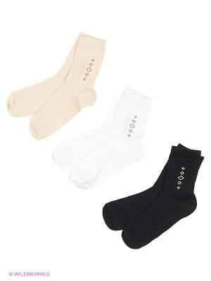 Носки Хох. Цвет: черный, бежевый, белый