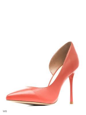 Туфли JUST COUTURE. Цвет: красный