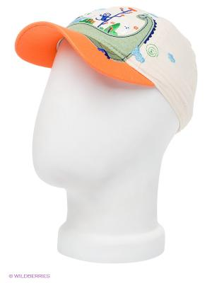 Бейсболка Maxval. Цвет: светло-бежевый, оранжевый