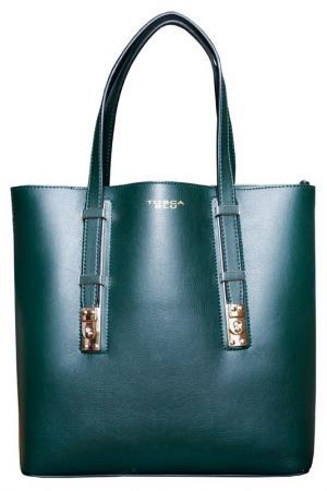 Сумка Tosca Blu. Цвет: зеленый