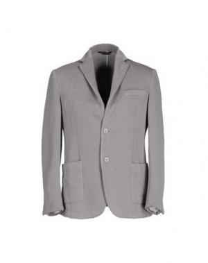 Пиджак BETWOIN. Цвет: серый