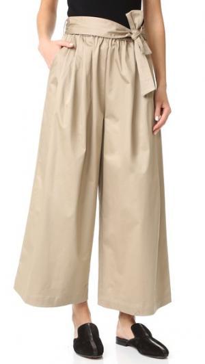 Юбка-брюки в стиле чинос Emerson Thorpe. Цвет: хаки
