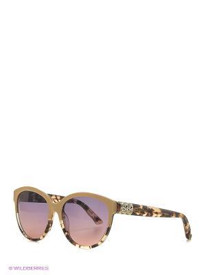 Солнцезащитные очки SK 0089 56В Swarovski. Цвет: бежевый, коричневый