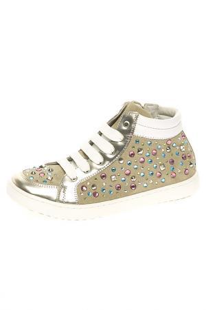 Ботинки Ciao Bimbi. Цвет: бежевый