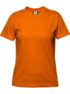 Футболка Premium-T Clique. Цвет: оранжевый