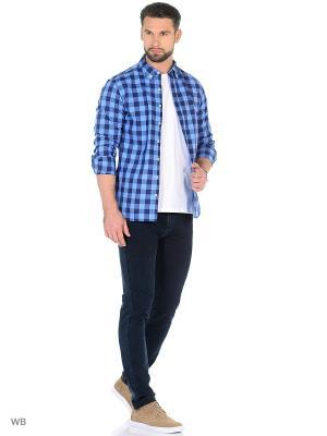 Рубашка - CLAUDE8 MANGO MAN. Цвет: темно-синий