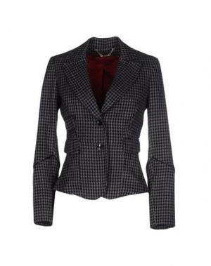 Пиджак TRY ME. Цвет: серый